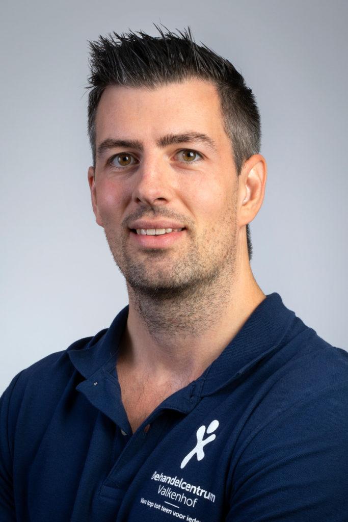 Chris Gamble, fysiotherapeut en bewegingswetenschapper. Betrokken bij ClaudicatioNet.