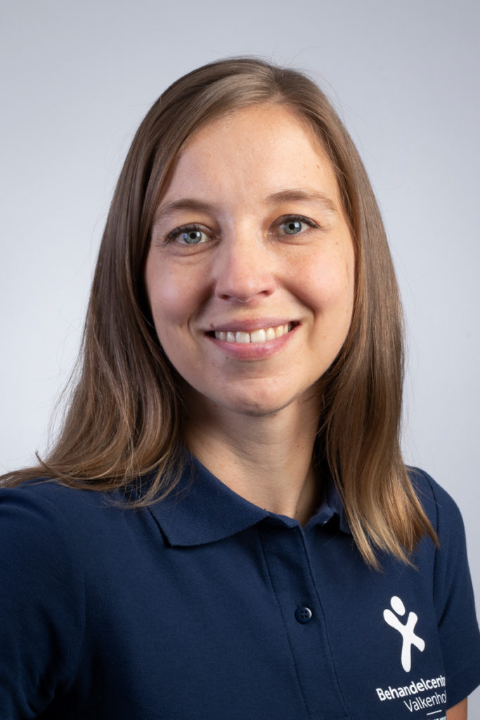 Nicole Meuwissen, fysiotherapeut en oedeem fysiotherapeut. Betrokken bij Steunkousen en Total Fit.