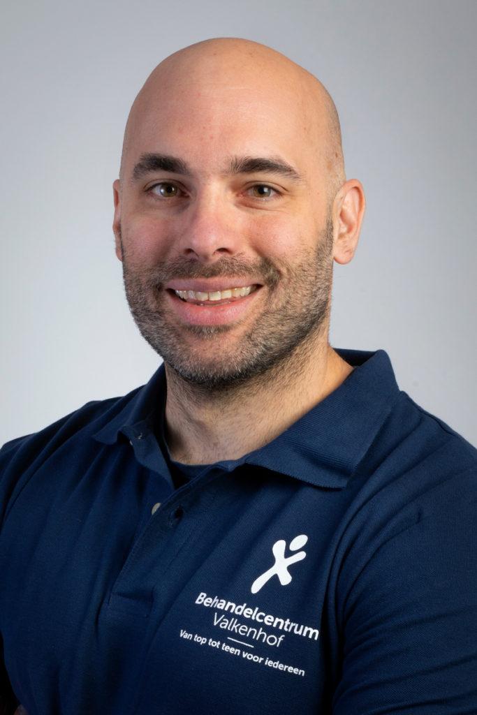 Raoul Maas, manueel en orofaciaal fysiotherapeut. Betrokken bij Fysio Fitness en Total Fit.