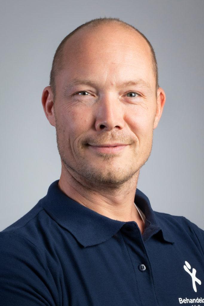 Daniel du Corbier, ergotherapeut/cognitieve revalidatie therapeut. Betrokken bij CVA Ketenzorg, Multidisciplinaire samenwerking kwetsbare ouderen, NAH netwerk, ParkinsonNet.