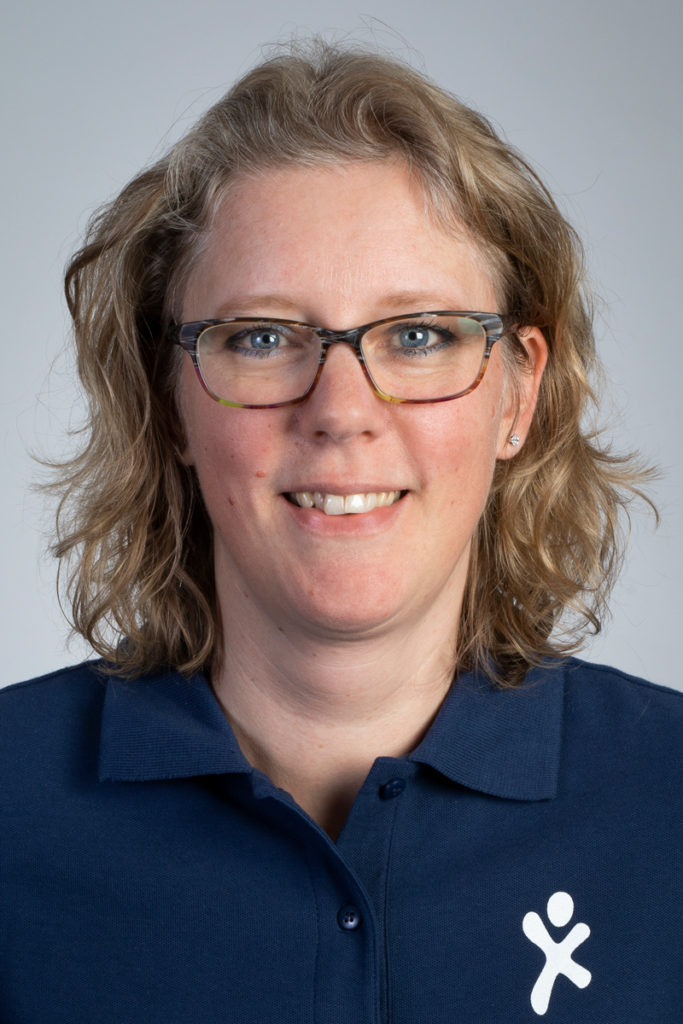 Irene Melgers-Rooney, fysiotherapeut. Betrokken bij CVA Ketenzorg.