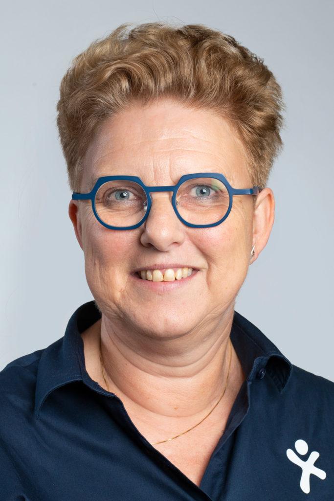 Regina Bunders, diëtist. Betrokken bij Ketenzorg POZOB en Elan, NAH netwerk, ParkinsonNet en Total Fit.