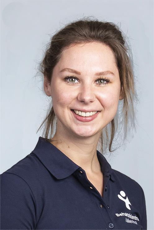 Anne Vos, logopedist. Betrokken bij CVA Ketenzorg en Multidisciplinaire samenwerking kwetsbare ouderen.