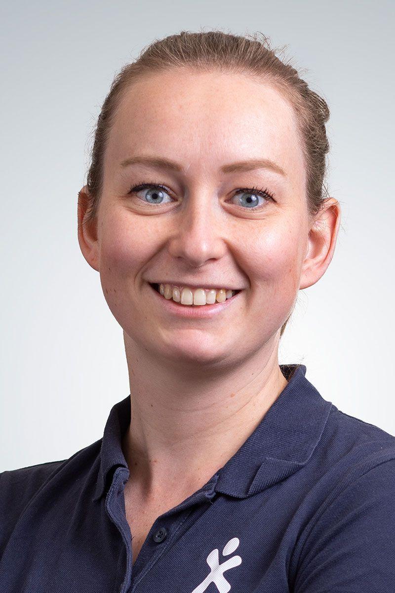 Karen de Groot, handfysiotherapeut. Betrokken bij Total Fit en Valpreventie.